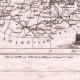 DÉTAILS 02 | Carte du Département de la Sarthe - Le Mans - Pays de la Loire (France)
