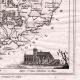 DÉTAILS 03 | Carte du Département de la Sarthe - Le Mans - Pays de la Loire (France)