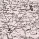 DÉTAILS 05 | Carte du Département de la Sarthe - Le Mans - Pays de la Loire (France)