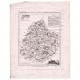 DÉTAILS 06 | Carte du Département de la Sarthe - Le Mans - Pays de la Loire (France)