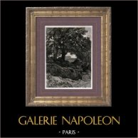 Landscape - Avant la lettre (Théophile Narcisse Chauvel)