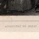 DÉTAILS 01 | Révolution française - Assassinat de Marat par Charlotte Corday (13 juillet 1793)