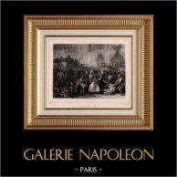 Revolución Francesa - 1 Pradial Año III (20 de Mayo de 1795) - Insurrección Jacobina - Hambre - Boissy d'Anglas - Represión - Menou de Boussay