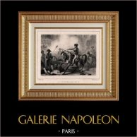 Revolución Francesa - 13 Vendimiario Año IV (5 de Octubre de 1795) - Insurrección Monárquico - Barras - Napoléon Bonaparte - Murat - Saint-Roch