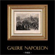 Révolution française - Supplice des Girondins (30 octobre 1793) - Tribunal Révolutionnaire - Charrettes - Sanson - Guillotine