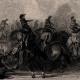 DÉTAILS 04 | Révolution française - Prise de la Flotte Hollandaise au Helder par les Hussards Français (21 janvier 1795) - Cavalerie - De Winter - Lahure - Glace - Zuyderzée