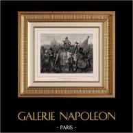 Révolution française - Triomphe de Marat  (24 Avril 1793) - Après Acquittement du Tribunal Révolutionnaire
