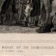 DÉTAILS 01   Révolution française - Entrevue de Marat et de Dumouriez (16 octobre 1792) -  Bourbotte Député