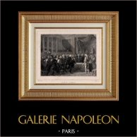 Franse Revolutie - Royal Meeting (23 juni 1789) - Lodewijk XVI van Frankrijk - Staten-Generaal - Versailles - Tennisbaan Eed - Bailly - Mirabeau