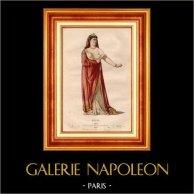 Costume du Théâtre Français - Tragédie - Mythologie Grecque - Nérine - Médée (Pierre Corneille)