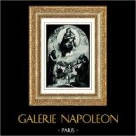 Museus Vaticanos - Pinacoteca Vaticana - Madonna de Foligno por Rafael - Maestà - Virgem Madonna e o Menino Jesus - A Virgem com Anjos