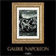 Galleria Borghese - Jesus Christ - The Deposition - Descent from the Cross (Raphael - Raffaello Sanzio)