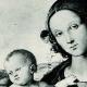 DETAILS 02 | Galleria Borghese - The Virgin and Child (Pietro Perugino)