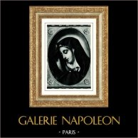Galleria Borghese - Virgin Mary - Madonna called of the Finger - Madonna detta del Dito (Carlo Dolci)