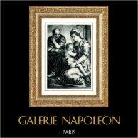 Galleria Barberini - Den Heliga Familjen - Jungfru Maria och Jesusbarnet - La Sacra Famiglia (Andrea del Sarto)