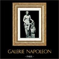 Museos Vaticanos - Sala en Cruz Griega - Estatua - Venus de Gnidia - Mitología Romana y Griega