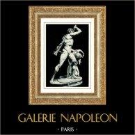 Sculpture - Galata Ludovisi - Gaulois et sa Femme (Ecole de Pergamo)