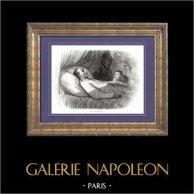 Histoire de Napoléon Bonaparte - Mort de Napoléon Bonaparte (1821) - Déporté par les Britanniques sur l'île Sainte-Hélène - Hudson Lowe