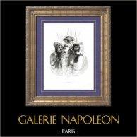 Geschichte von Napoleon Bonaparte - Französische Revolution : Leute zum Tuileries (1792)