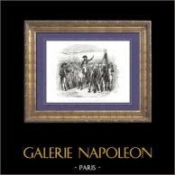 Histoire de Napoléon Bonaparte - Division de Vaubois - Plateau de Rivoli (Novembre 1796) - Armée d'Italie