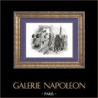 Geschichte von Napoleon Bonaparte - Napoleon Bonaparte darstellt den Vertrag von Campo Formio vor Direktorium (1797)