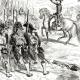 DÉTAILS 03 | Histoire de Napoléon Bonaparte - Guerres Napoléoniennes - Bataille des Pyramides - Campagne d'Égypte - Bonaparte s'adressant à ses Soldats (1798)
