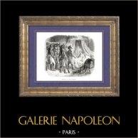 Histoire de Napoléon Bonaparte - Arrestation du Duc d'Enghien (15-16 Mars 1804) par Ordener sur Ordre de Napoléon Bonaparte Premier Consul