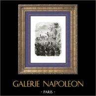 Histoire de Napoléon Bonaparte - Guerres Napoléoniennes - Distribution des Croix de la Légion d'Honneur - Napoléon au Camp de Boulogne (1804)