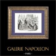 Geschichte von Napoleon Bonaparte - Krönung von Napoleon - Joséphine de Beauharnais Kaiserin der Franzosen (1804)