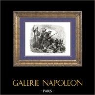 Geschichte von Napoleon Bonaparte - Belagerung von Saragossa - Napoleonischen Kriege - Iberischen Halbinsel - Überfall auf die Mauern von Saragossa