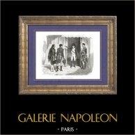 Geschichte von Napoleon Bonaparte - Napoleon vorne Madrid - Spanischer Unabhängigkeitskrieg (1808)