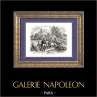 Histoire de Napoléon Bonaparte - Napoléon Visite les Ruines de Dierstein Autriche - Prison de Richard Ier d'Angleterre dit Cur de Lion
