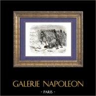 Histoire de Napoléon Bonaparte - Napoléon à Krasnoë (1812) - 6ème Coalition - Campagne de Russie