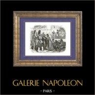 Geschichte von Napoleon Bonaparte - Feuersbrunst zu Moskau - Campanha da Rússia