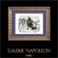 Geschichte von Napoleon Bonaparte - Napoléons Russlandfeldzug - Durchreise av Bjaresina (1812) - Koalitionskriege - Feldzug in Russland