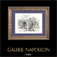 Geschichte von Napoleon Bonaparte - Napoleonische Kriege - Koalitionskriege - Die Schlacht bei Lützen, auch Die Schlacht bei Großgörschen (1813)