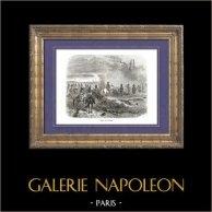 Geschichte von Napoleon Bonaparte - Napoleonische Kriege - Koalitionskriege - Die Schlacht von Dresden - Tod von Moreau (1813)