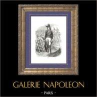 Geschichte von Napoleon Bonaparte - Porträt von Nicolas Soult Marschäll des Kaiserreichs