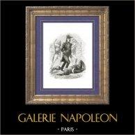 Geschiedenis van Napoleon Bonaparte - maarschalk Ney - Napoleontische Oorlogen - Marshal van het Imperium Prince de la Moskowa - Campagne in Rusland