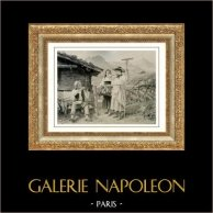 Genre Scene by Benjamin Vautier the Elder - Ein Galanter Professor