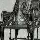 DÉTAILS 01   Egypte Antique - Egyptologie - L'Art Egyptien - Meubles Anciens - Trône - Tombeau de Toutânkhamon (Vallée des Rois)