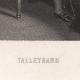 DÉTAILS 01 | Portrait de Talleyrand - Homme Politique et Diplomate Français (1754-1838)