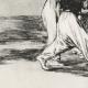 DÉTAILS 03 | La Tauromachie - Corrida en Espagne - Torero Maure à Cheval  (Francisco de Goya y Lucientes)