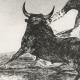 DÉTAILS 03   La Tauromachie - Corrida en Espagne - Torero Maure  (Francisco de Goya y Lucientes)