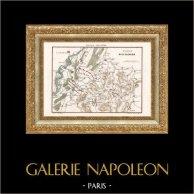 Franse Revolutieoorlogen - Napoleon Bonaparte - Duitsland - Kaart van de Slag van Ettlingen (1796)