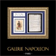 Historical Document on Parchment - Reign of Henry IV of France - 1596 - The French Wars of Religion - Jailer