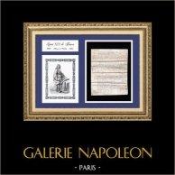 Documento Storico su Pergamena - Regno di Luigi XIV di Francia - 1654 - Vauban diventa Ingegnere del Re