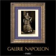 La Chanteuse de Rue (Edouard Manet) | Héliogravure originale sur papier velin d'après Edouard Manet. Anonyme. 1910