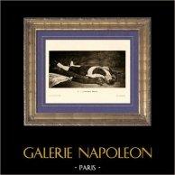 Dead Matador - L'Homme Mort - Le Torero Mort - Épisode d'une Course de Taureaux (Edouard Manet)
