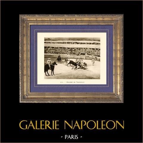 Corrida - corrida - Combat de Taureaux (Edouard Manet) |